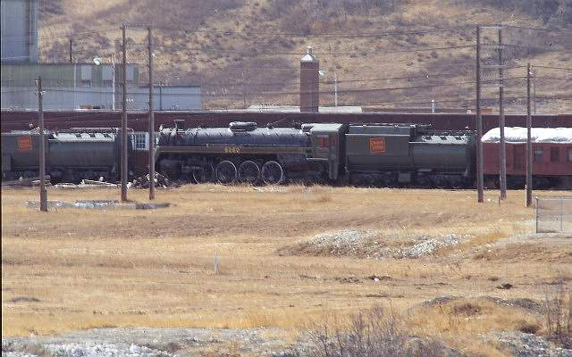 CNR 6060 at Cominco, Calgary 92/03/22. Submitted by Massey F. Jones.
