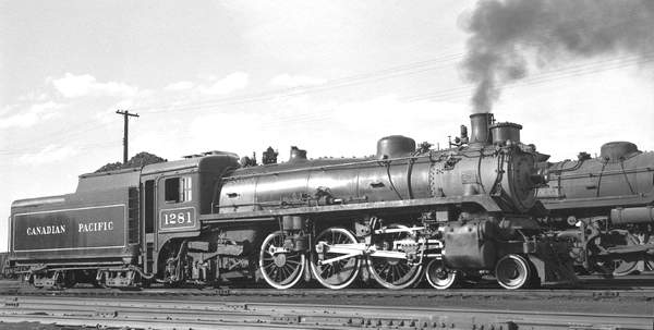 Image result for canadian pacific 4-6-2 in saskatchewan